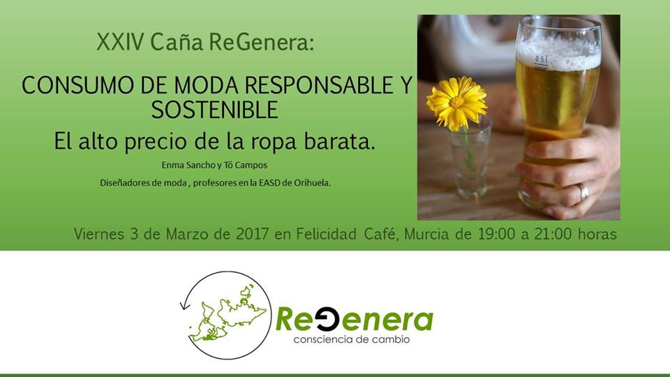 Consumo de moda responsable y sostenible, con ReGenera Consciencia