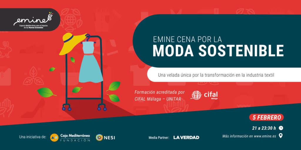 Cena por la Moda Sostenible en Murcia, con Emine