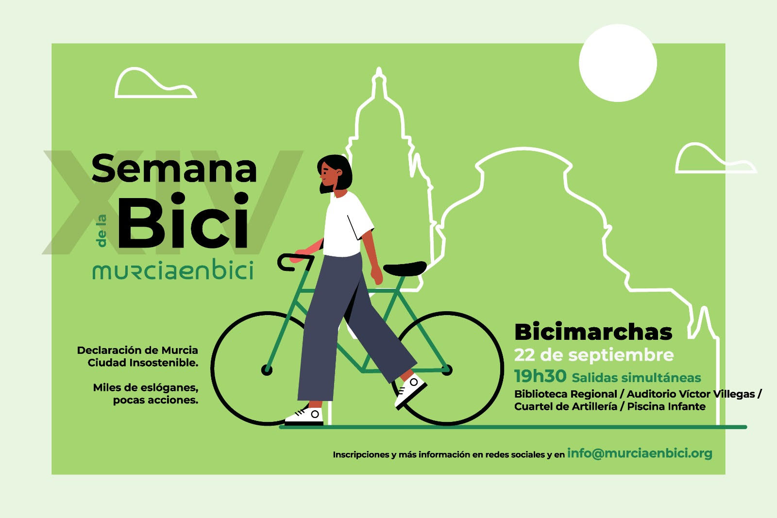Bicimarchas de Murcia en Bici