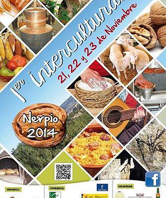 Cartel de la I Intercultural de Nerpio