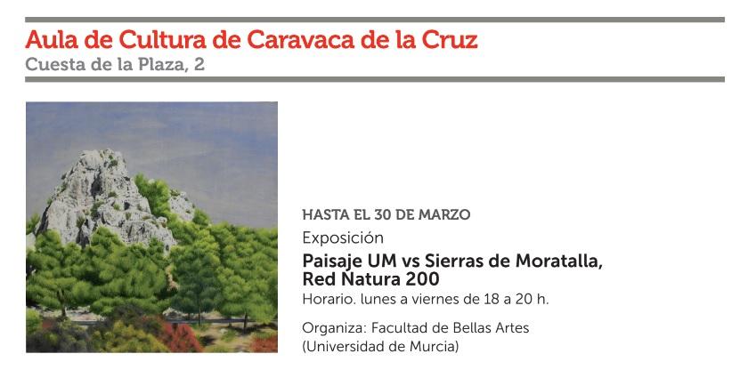 Exp sobre las Sierras de Moratalla, con la Fundación Cajamurcia