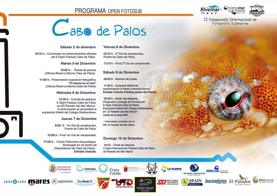 Sensibilización sobre el medioambiente marino para peques, con el Open FotoSub Cabo de Palos