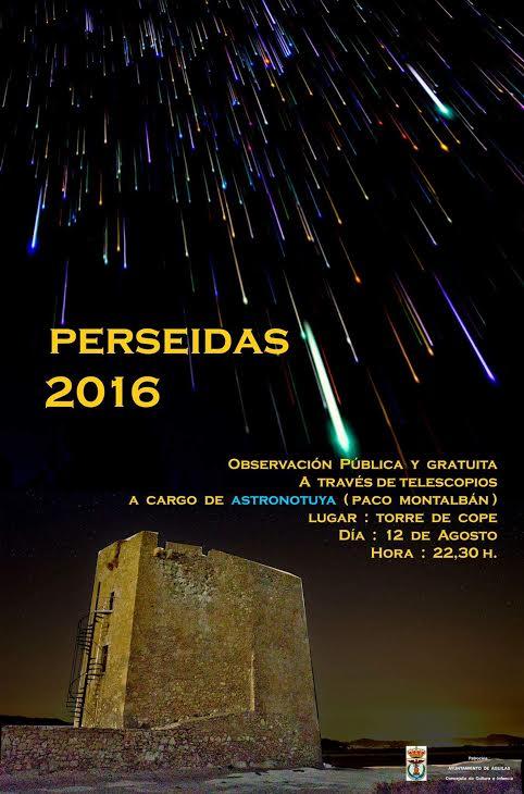 Observación de las Perseidas con Astronotuya