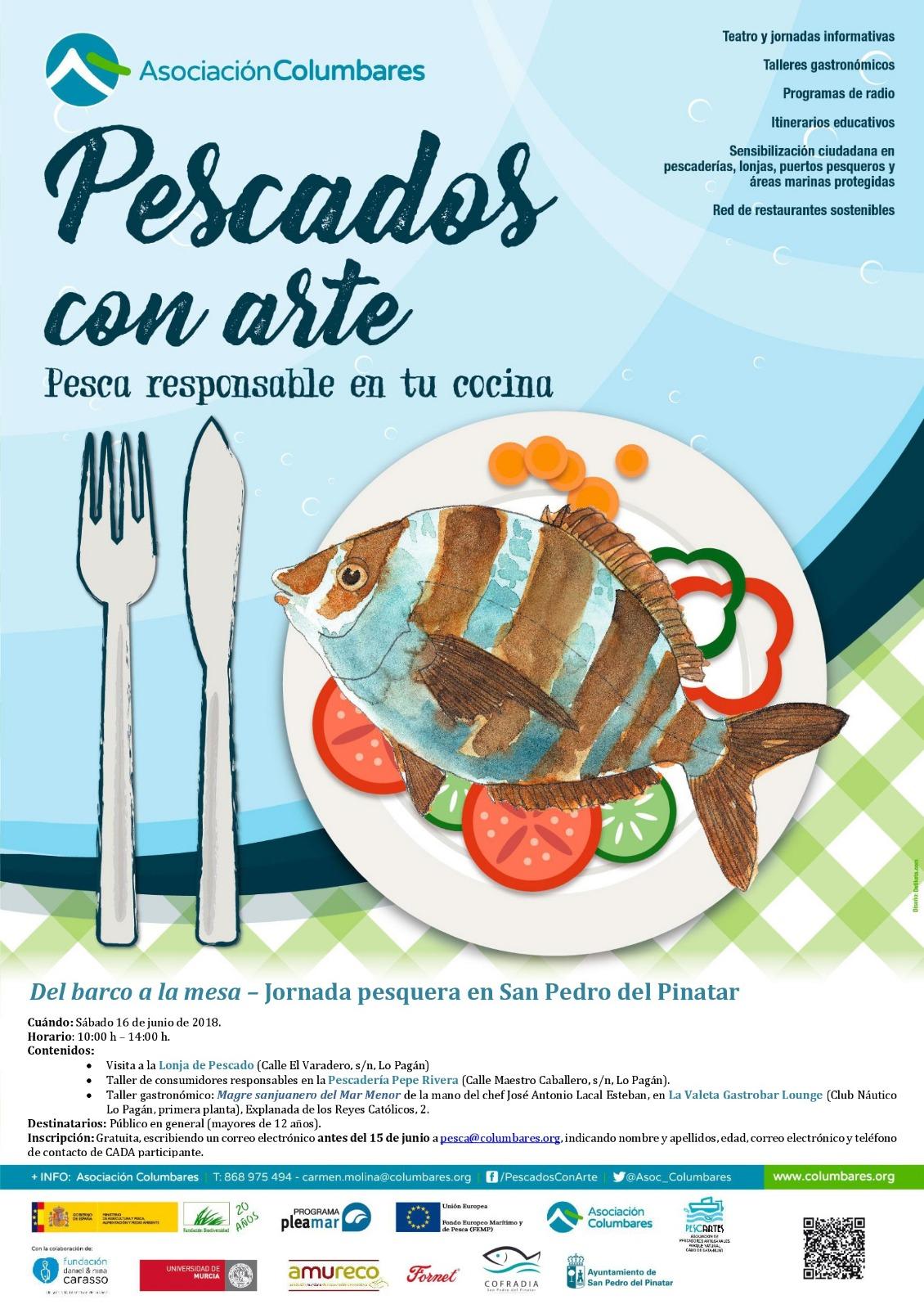 Jornada pesquera 'Del barco a la mesa', con Asociación Columbares