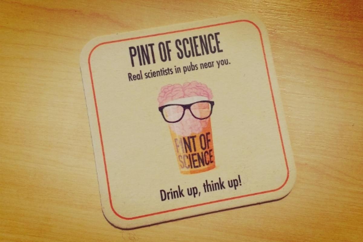Cartel del festival Pint of Science