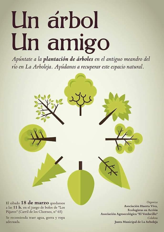 Plantación en La Arboleja, con Huerta Viva