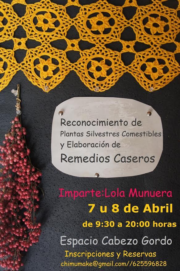 Plantas Silvestres Comestibles + Remedios Caseros, con LOLA MUNUERA