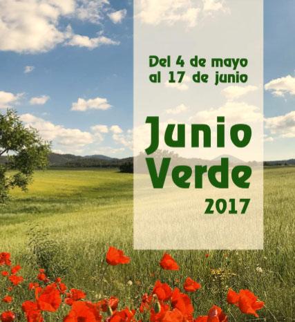 Cartel de Junio Verde en Bullas, con el Ayto. de Bullas