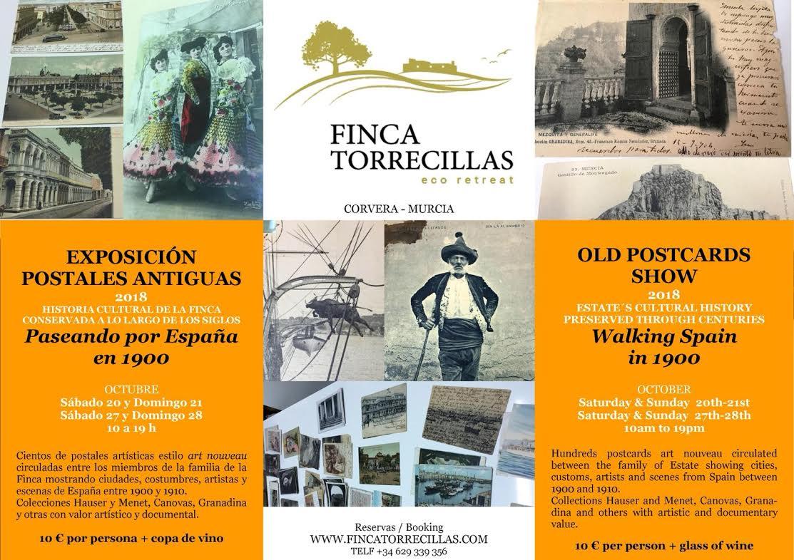 'Paseando por España en 1900', con Finca Torrecillas Ecoretreat