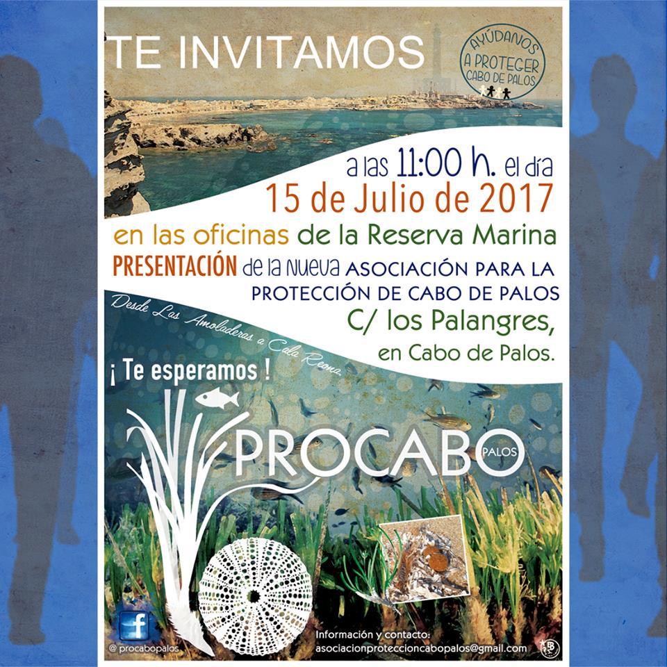 Presentación de la Asociación para la Protección de Cabo de Palos, Procabo
