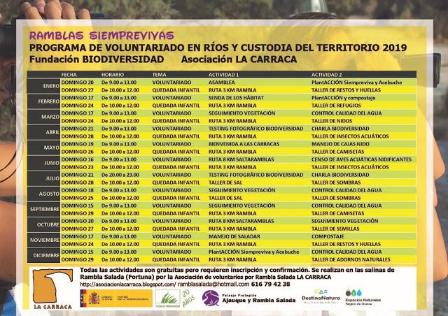 Programa Ramblas Siemprre Vivas, con La Carraca