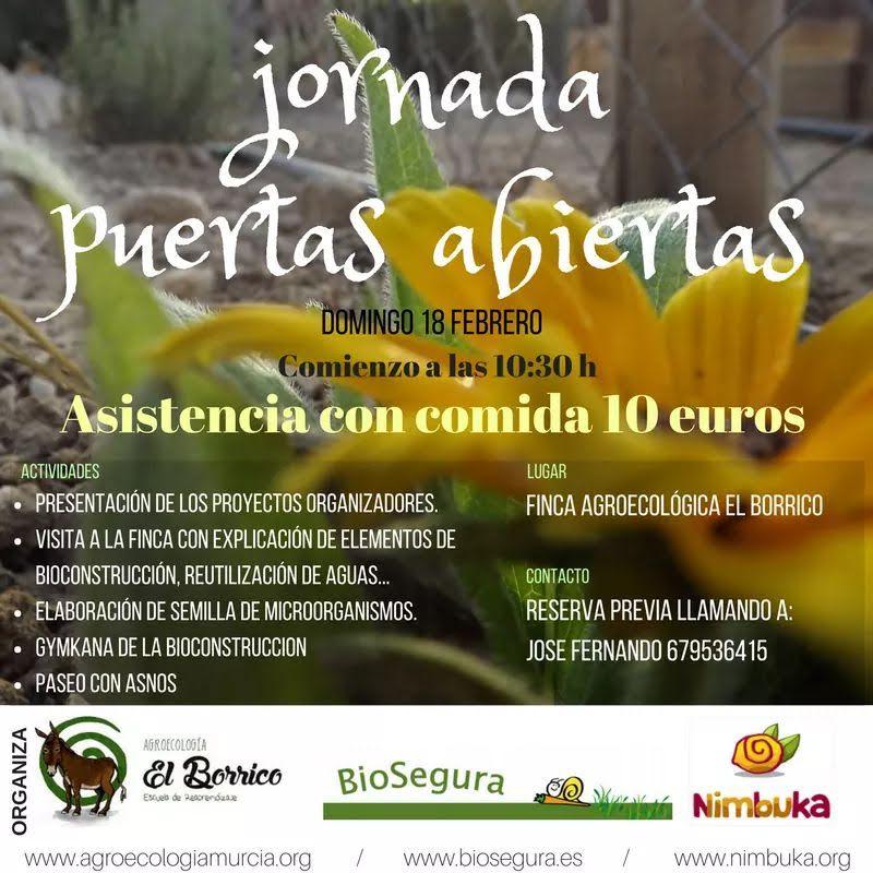 Puertas Abiertas en Agroecología El Borrico