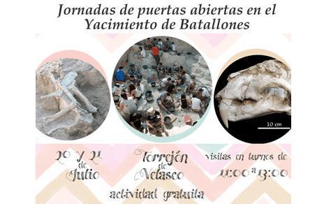 Puertas Abiertas en el Yacimiento de Cerro de los Batallones, con el MNCN