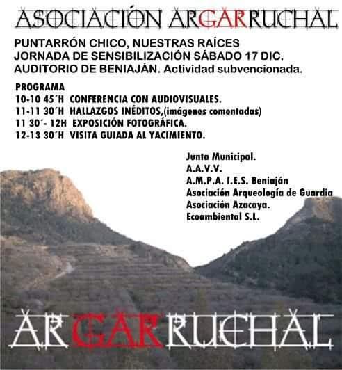 Jornada sobre el yacimiento de Puntarrón Chico, con Argarruchal