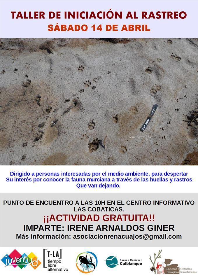 Iniciación al Rastreo, con el Ayto. de Cartagena