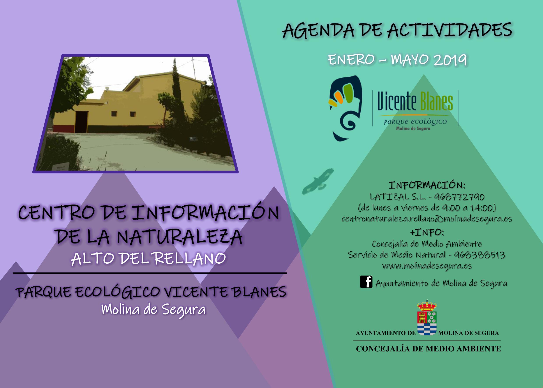 Cartel de la programación de El Rellano, con el Ayto. de Molina