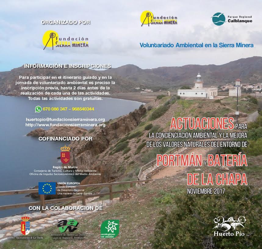Repoblación en la batería de La Chapa, con la Fundación Sierra Minera