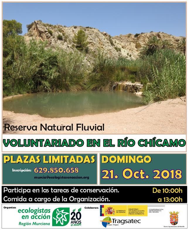 Voluntariado Río Chícamo, con EEA