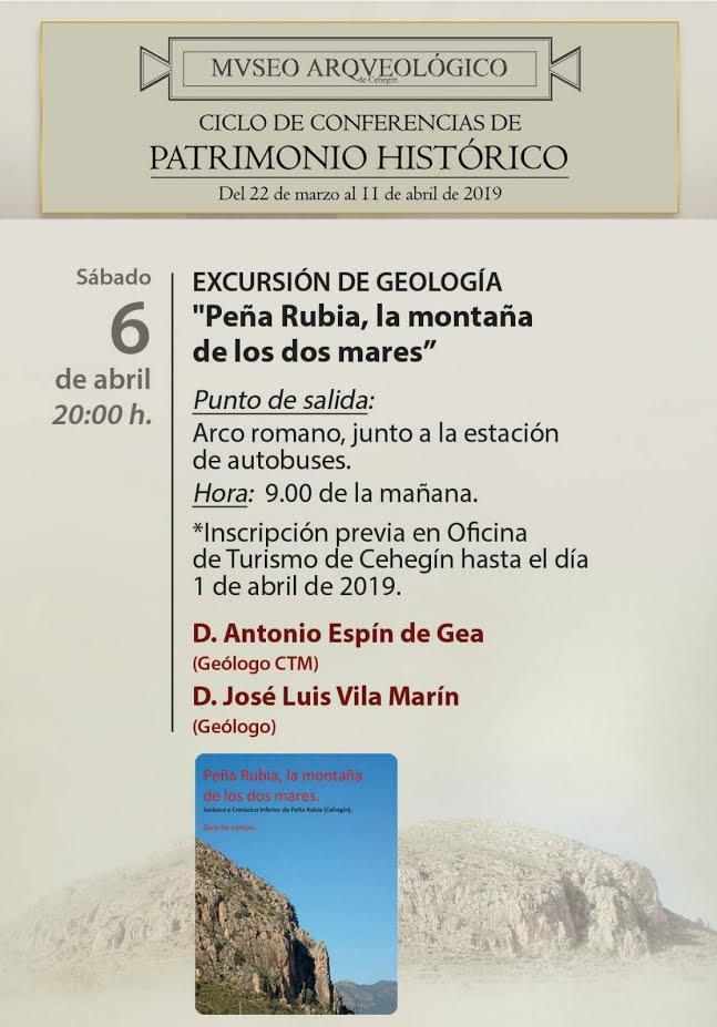 Ruta geológica a Peña Rubia, con el Ayto. de Cehegín