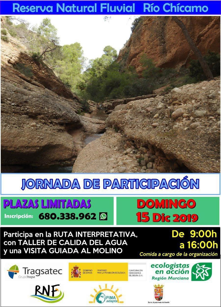 Ruta guiada por el Río Chícamo, con EEA Región Murciana