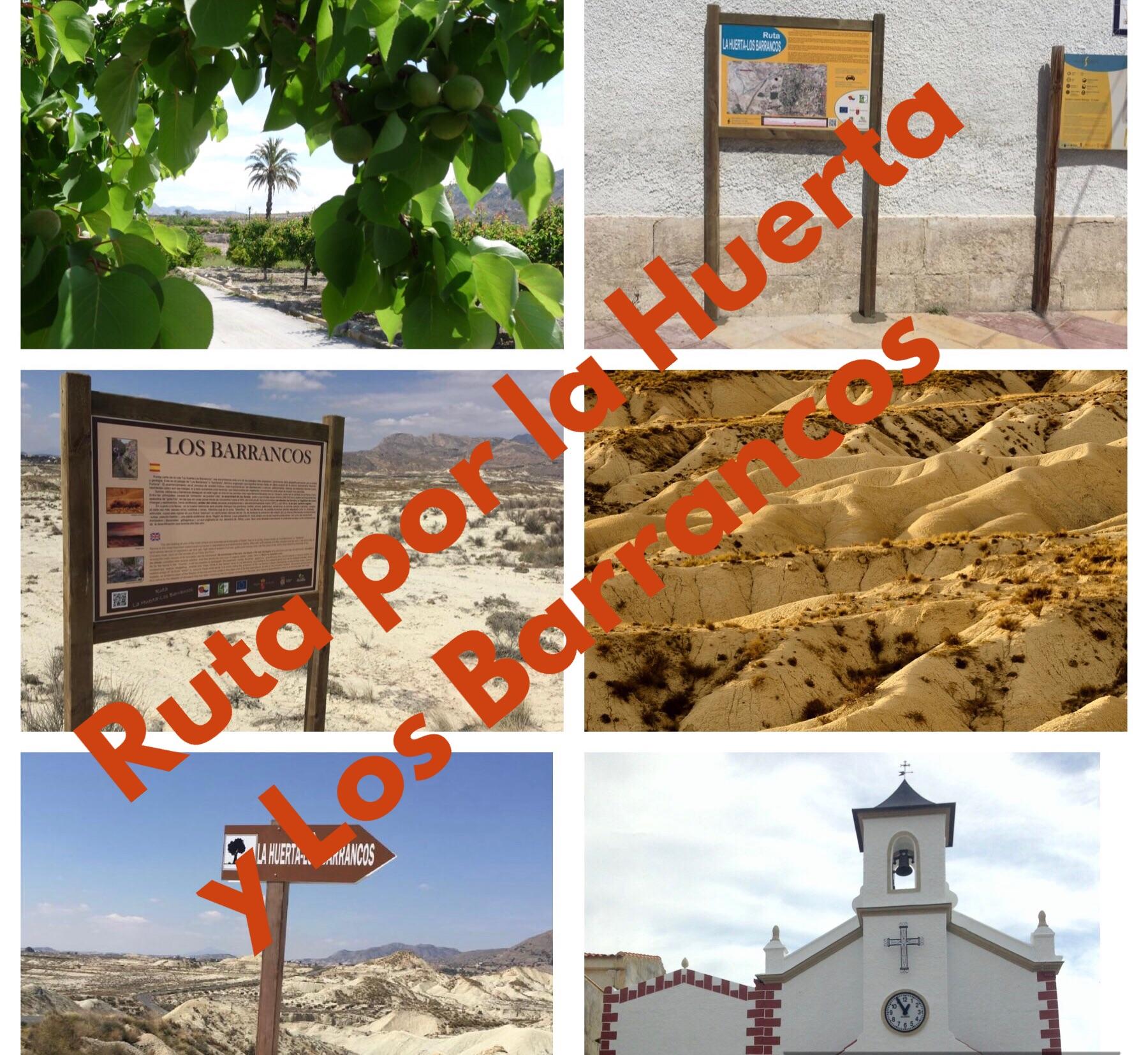La rica huerta de Abanilla y su desierto, con la Concejalía de Medio Ambiente y la Oficina de Turismo de Abanilla