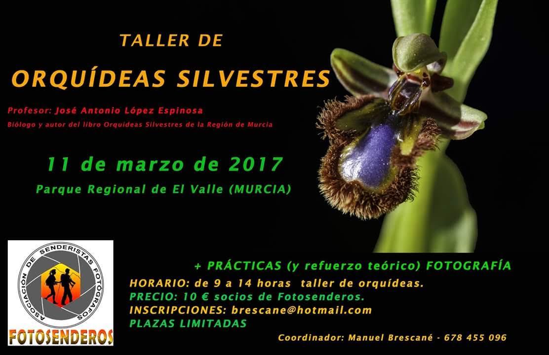 Salida para fotografiar orquídeas, con Fotosenderos