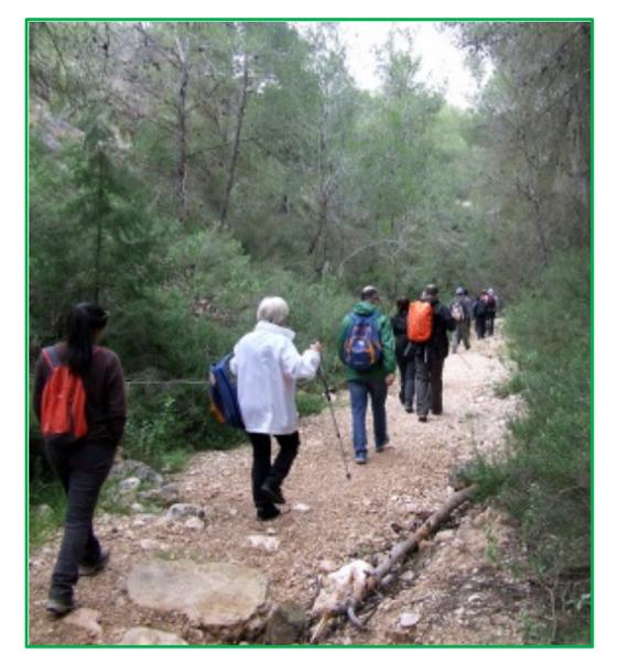 Ruta por Sierra Espuña, con la CARM