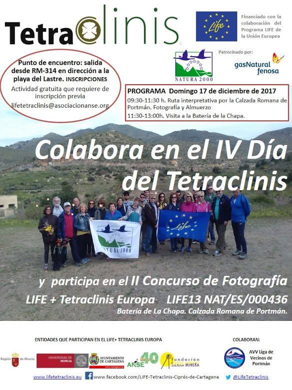 Ruta interpretativa por la Calzada Romana de Portmán, con LIFE Tetraclinis Europa