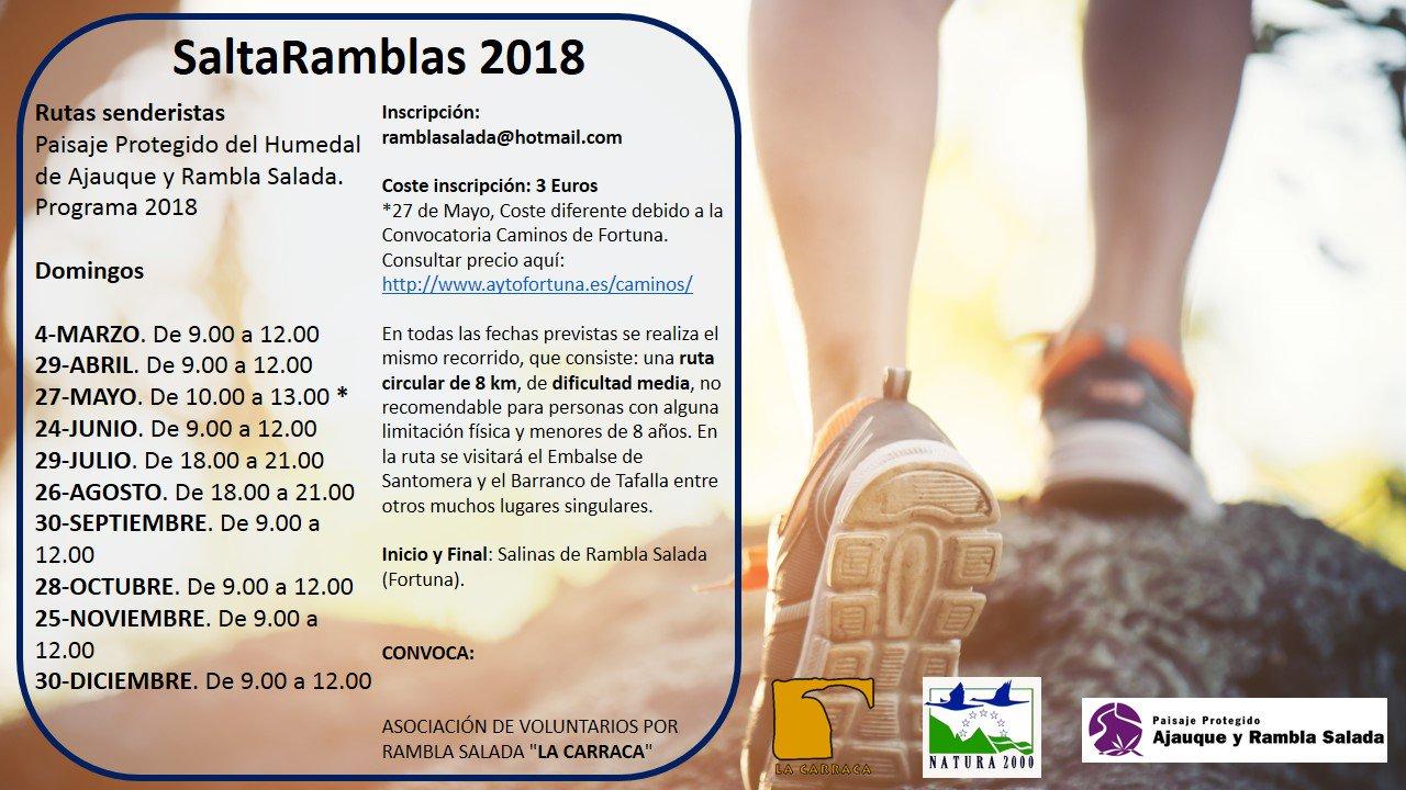 Programa de SaltaRamblas 2018, con La Carraca