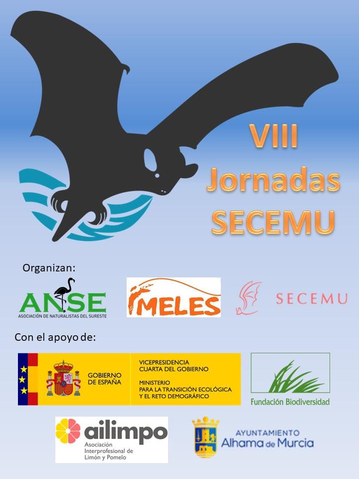 VIII Jornadas de la Asociación Española para la Conservación y el Estudio de los Murciélagos