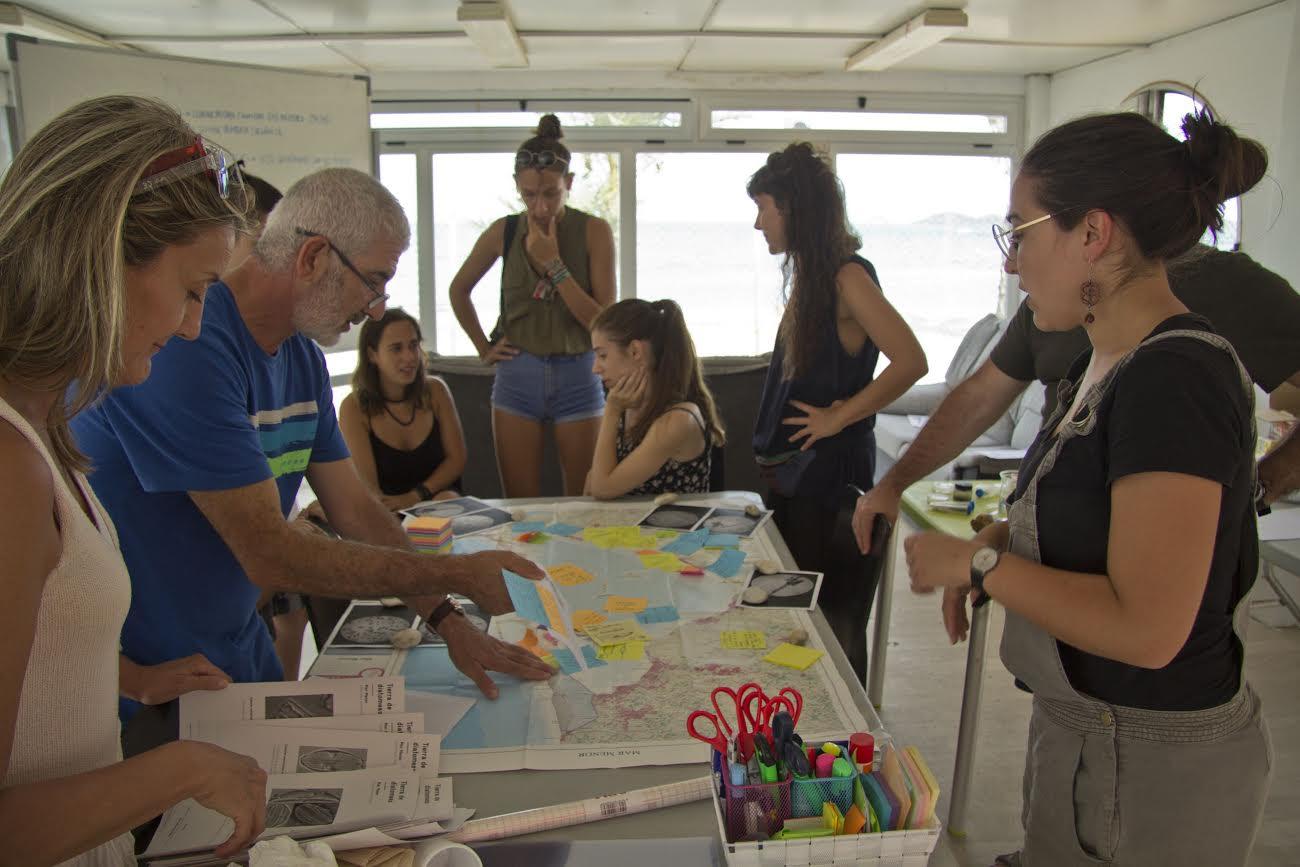 segundo curso de verano Mar Menor Lab. Arte y Ciencia para un paisaje en crisis, con Unimar