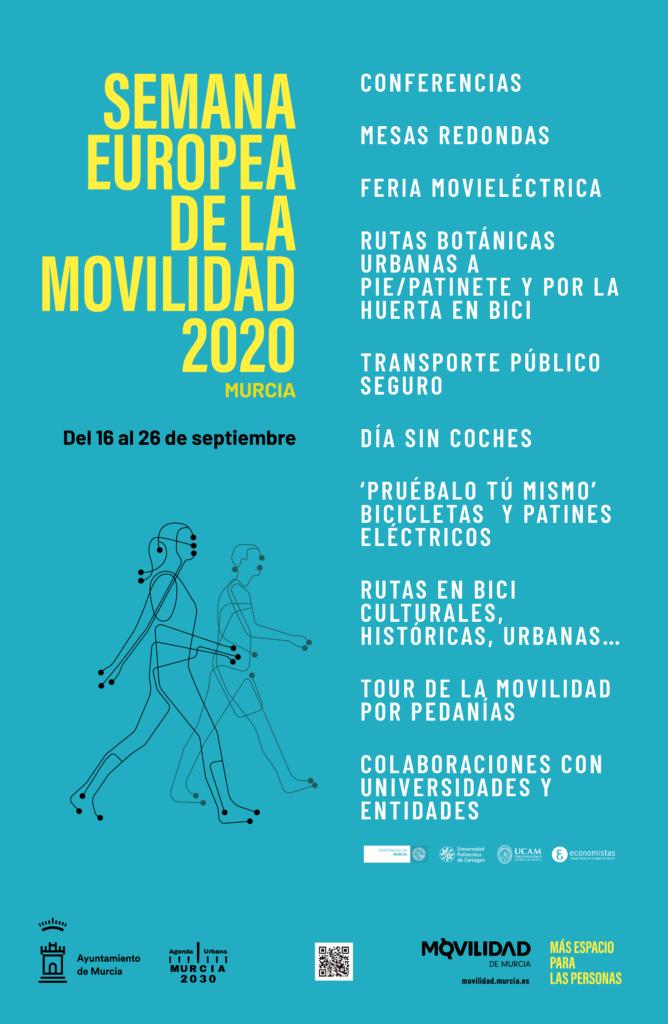 Cartel de la Semana Europea de la Movilidad