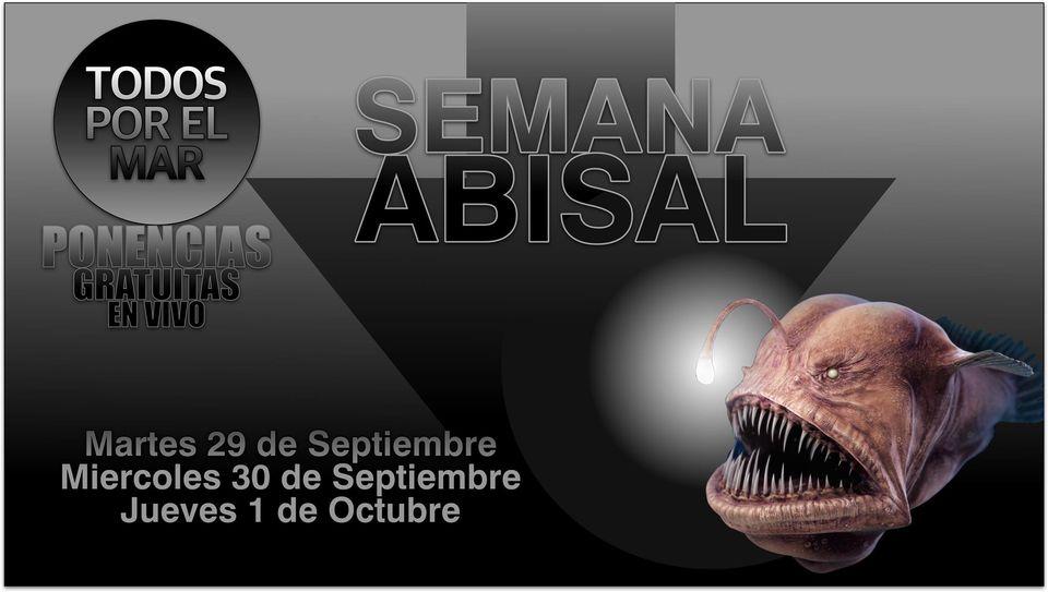 Semana Abisal, desde México, con Todos por el Mar