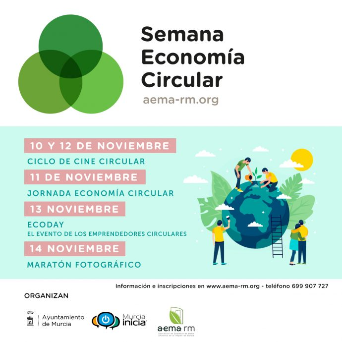 Semana de la Economía Circular, con el Ayto. de Murcia