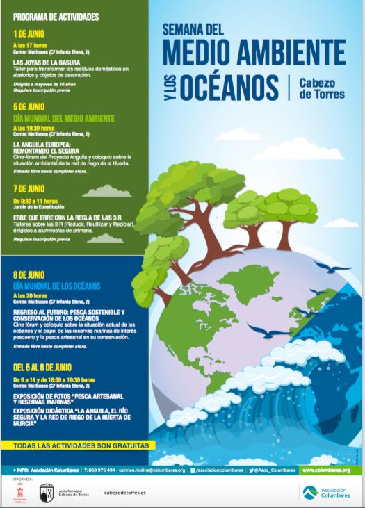 Semana del Medio Ambiente y los Océanos, con la Asociación Columbares