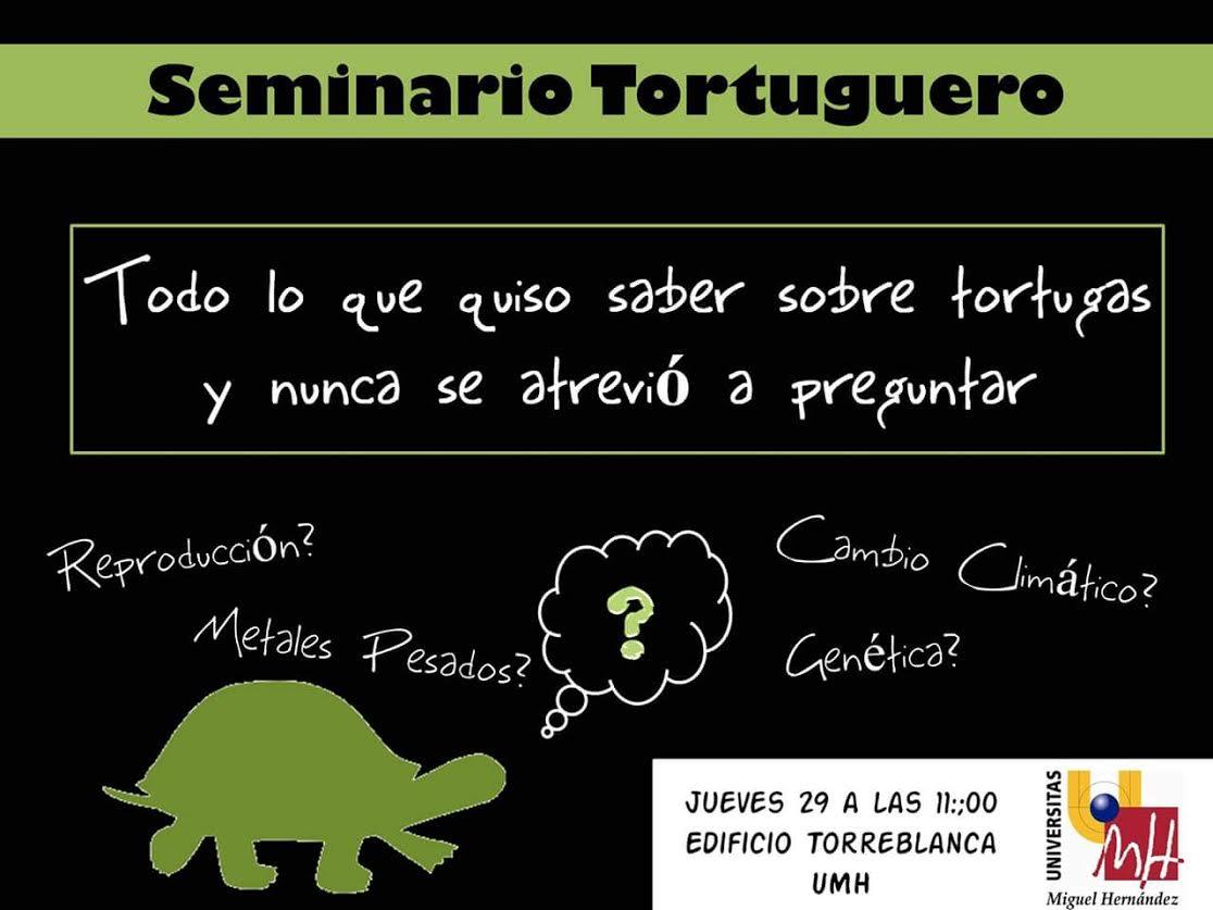 Seminario Tortuguero, conla UMH.