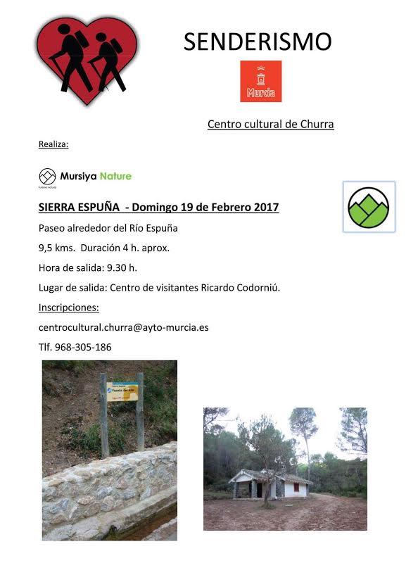 Ruta por Sierra Espuña, con el Aÿto. de Murcia