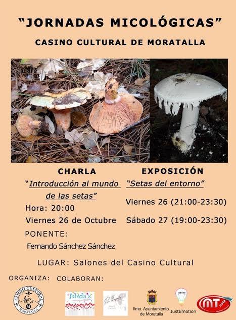 Jornadas Micológicas en Moratalla, con Casino Cultural