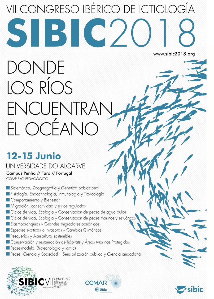 VII Congreso Ibérico de Ictiología SIBIC2018