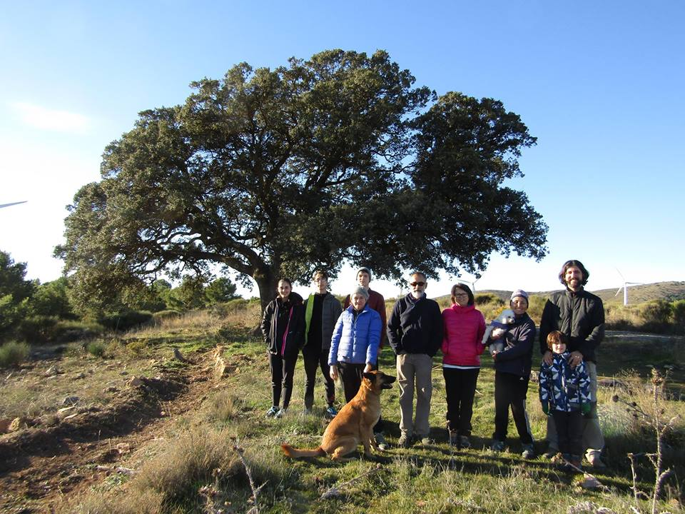 Siembra de bellotas, con Grupo Ecologista Andarax GEA-Ecologistas en Acción