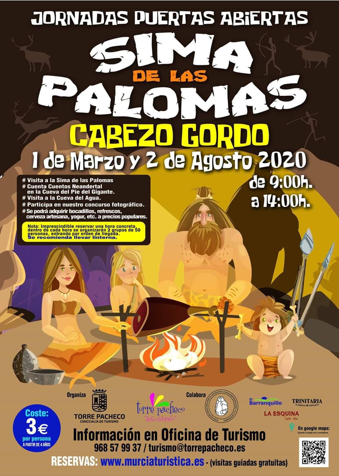 Sima de las Palomas, Puertas abiertas 1, con Mupantquant