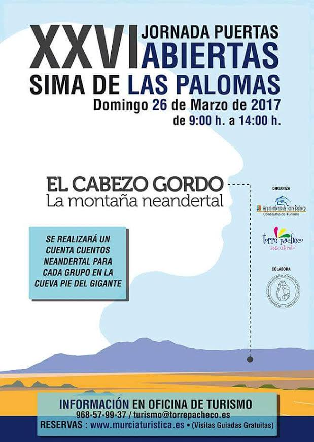 Visita a la Sima de las Palomas, con  Murcia Turística
