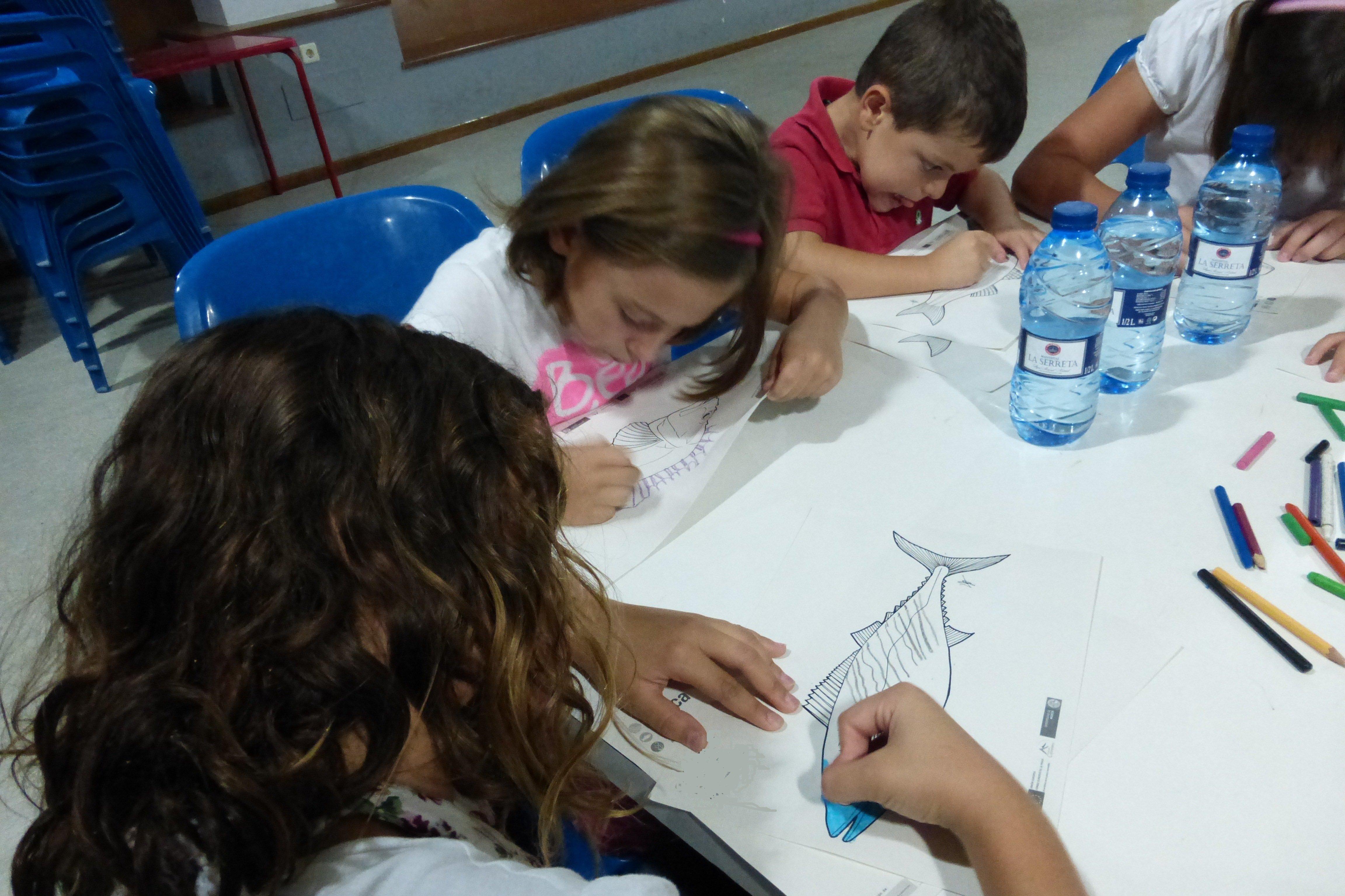 Taller infantil de cocina sostenible, con la Asociación Columbares