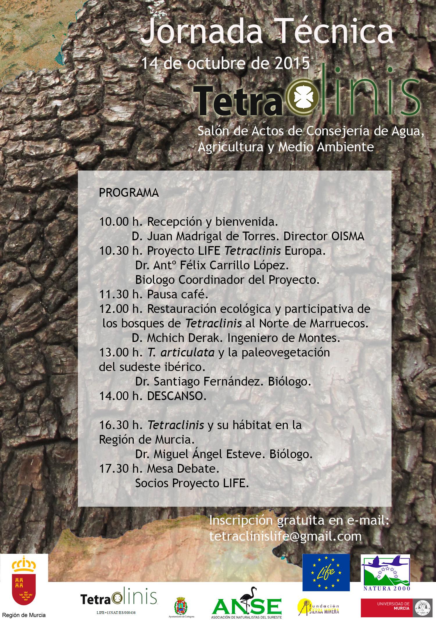 Jornada Técnica sobre Tetraclinis en la CARM