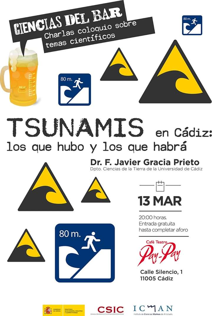 Tsunamis en Cádiz, con el Icman