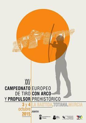 XXV Campeonato Europeo de Tiro con Arco y Propulsor Prehistóricos