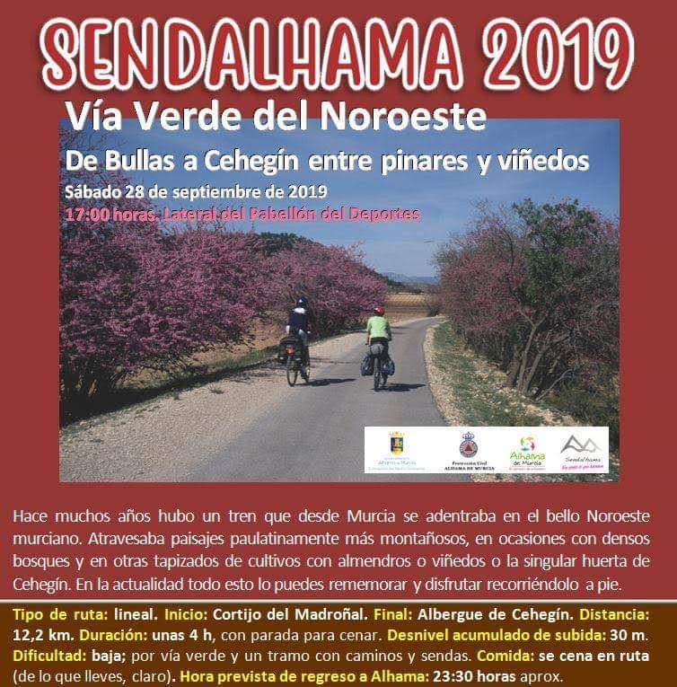 Ruta Vía Verde del Noroeste, con Sendalhama