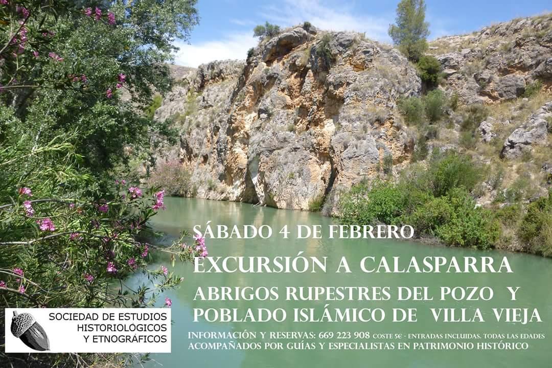 Excursión al despoblado de Villa Vieja, con la Sociedad de Estudios Historiológicos y Etnográficos