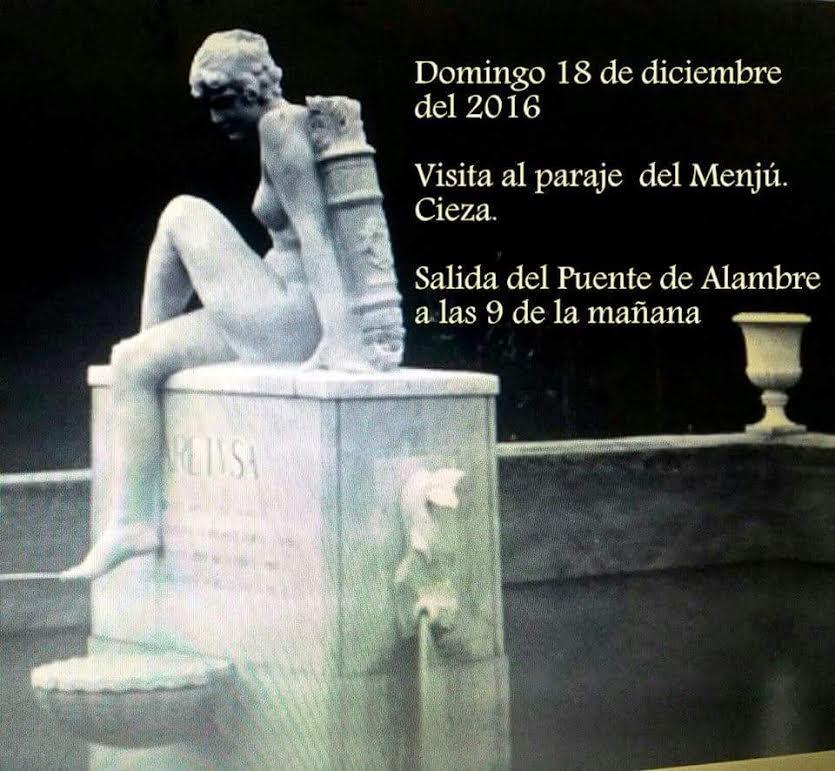 Visita al Menjú, con José Olivares García