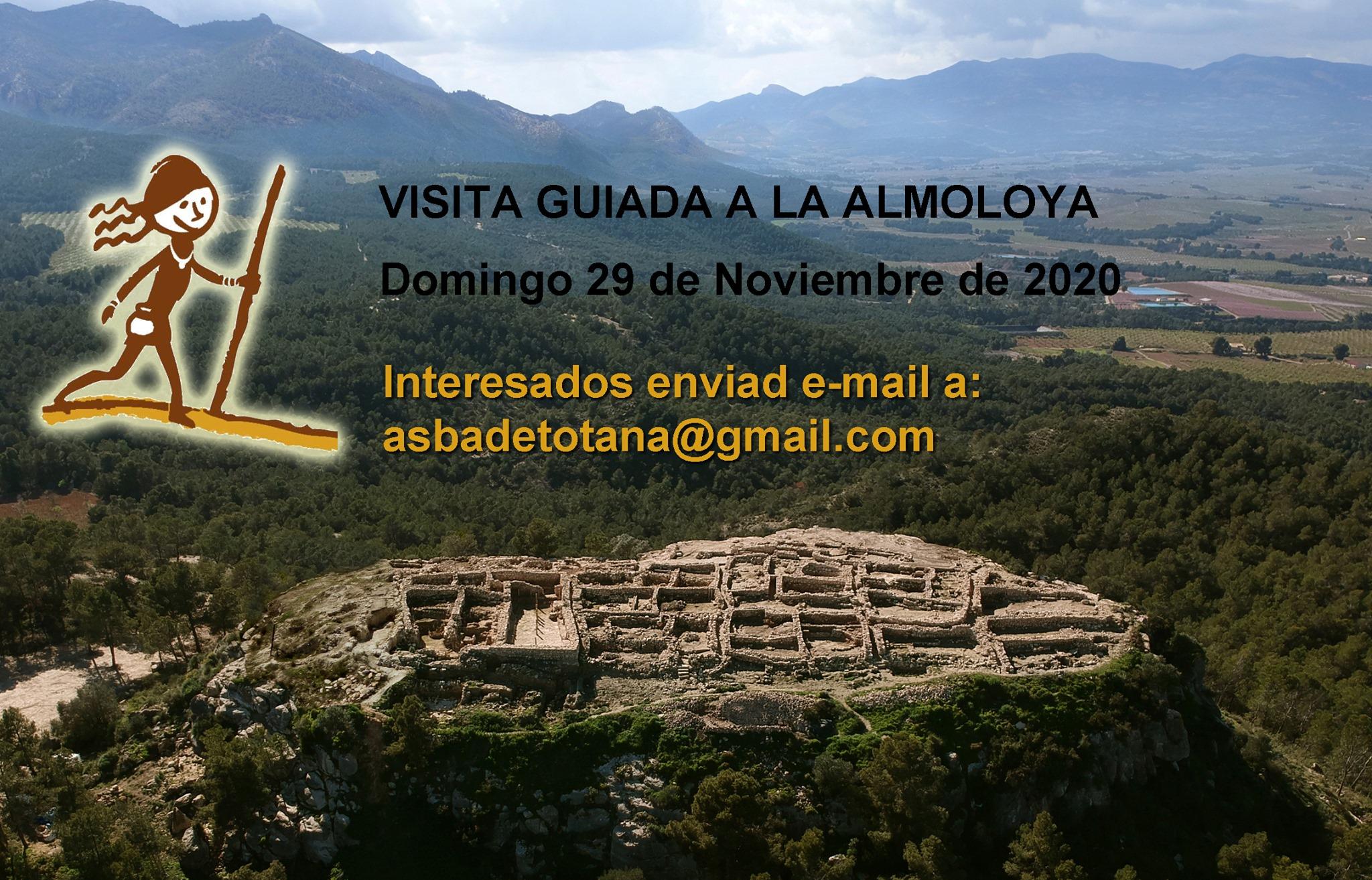 Visita guiada a La Almoloya en noviembre 2020, con ASBA